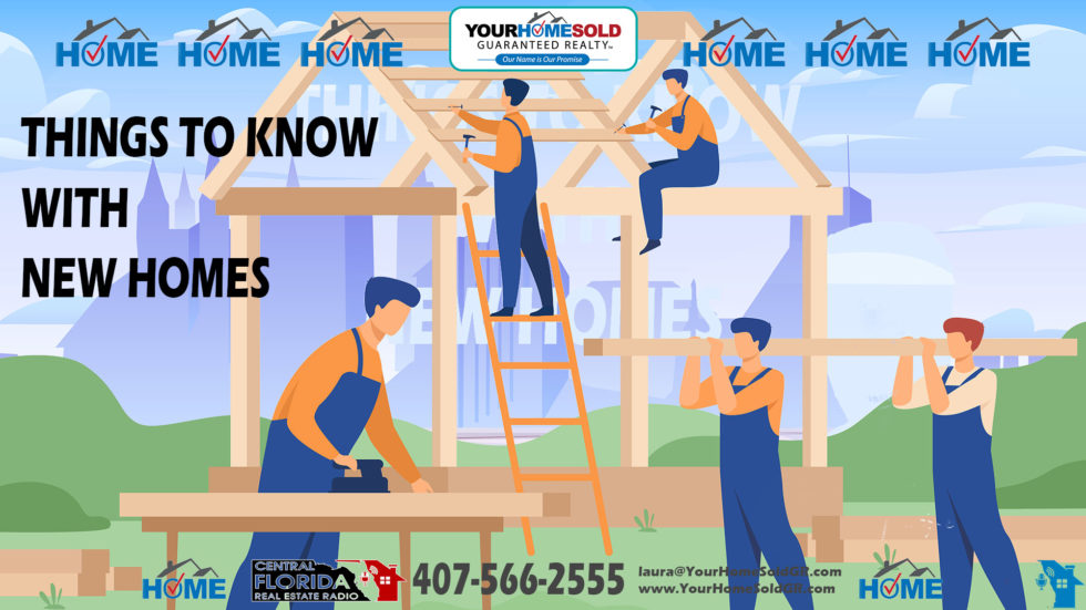 THINGS TO KNOW WITH NEW HOMES